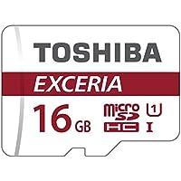 Toshiba EXCERIA M302 16Go carte mémoire Micro SD de 90 Mo / s 4K - THN-M302R0160EA