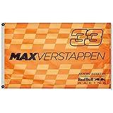 2but Red Bull Racing F1 Max Verstappen #33 Bandera Bandera 3x5Feet Decoración