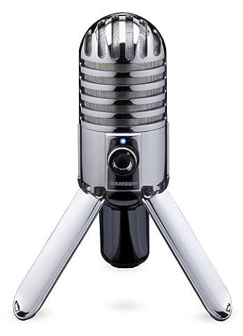 Samson Meteor Mic Microphone à condensateur USB cardioïde (Condensatore Strumento Mic)