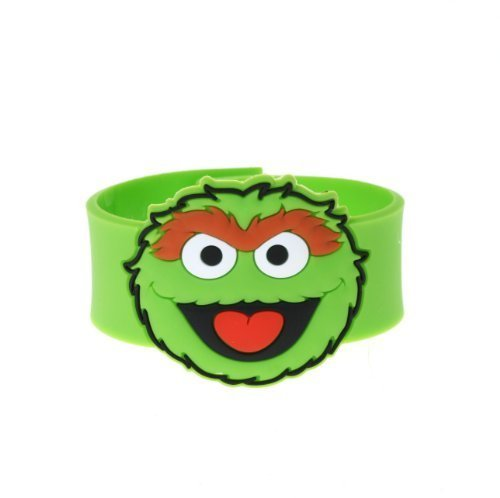 Bio Sesame Street Oscar The Grouch Snap Bracelet -