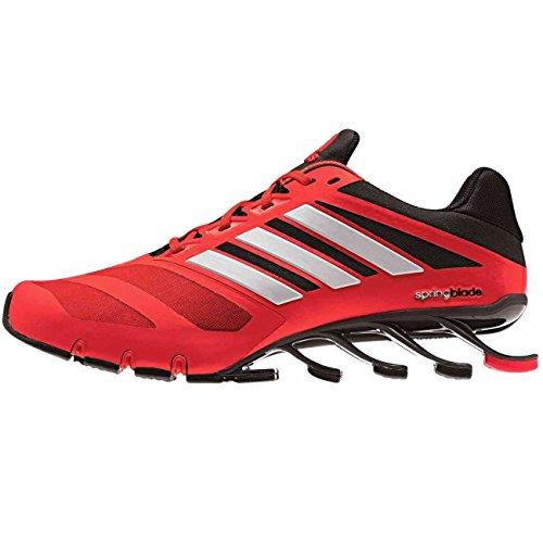 Adidas Springblade M Laufschuhe, SCARLE/CBLACK/SILVMT, EU 46 2/3 (11 1/2)