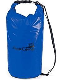 AceCamp wasserdichter Packsack Daypack schwimmfähig mit Tragegurt 10L, 20L, 30L, 50L
