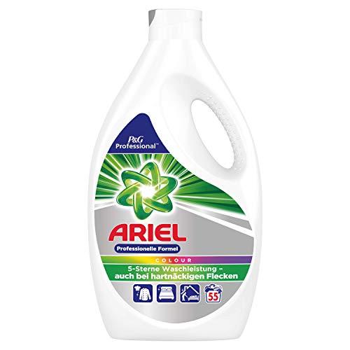 Ariel Professional Vollwaschmittel flüssig Colorwaschmittel 3,025l- 55Waschladungen