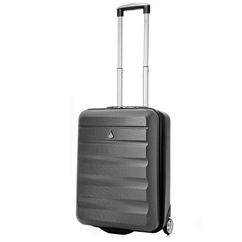Aerolite 55x40x20 Tamaño Máximo de Ryanair y Vueling ABS Trolley Maleta Equipaje...