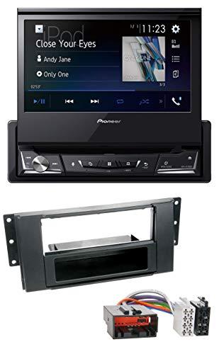 caraudio24 Pioneer AVH-A7100BT Bluetooth CD MP3 DVD USB Autoradio für Land Rover Freelander (2007-2010) Land Rover Cd