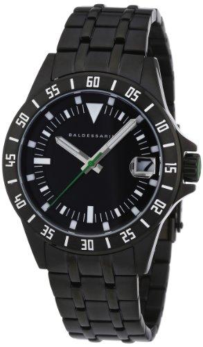Baldessarini Herren-Armbanduhr XL DUB Analog Quarz Edelstahl Y8035W/20/00