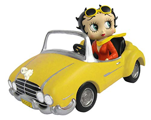 Betty Boop in Yellow Sports Car - 30 Collectable Figure