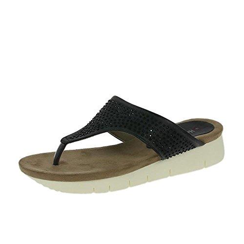 Heavenly Feet Kaitlyn Sandali Neri Nero