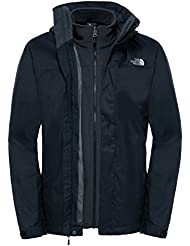 The North Face M Evolve II Tri, Giacca Uomo, Nero, XL