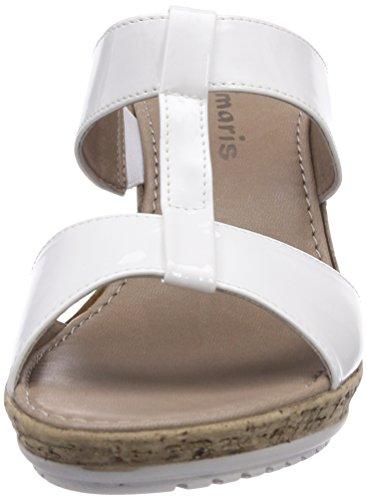 Tamaris 27207, Sabots femme Blanc - Weiß (White 100)