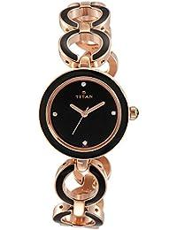 Titan Analog Black Dial Women's Watch-NK95036WM01