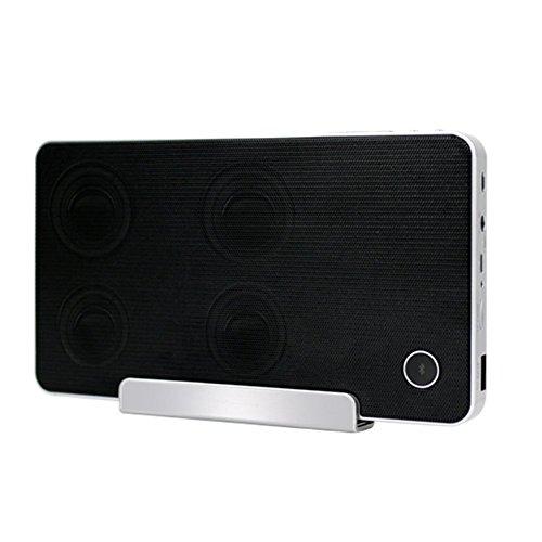 Preisvergleich Produktbild NSOP M6 Wireless Bluetooth Lautsprecher,  Tragbare Karte Mini Radio mit Handyhalter und Lade Po Lautsprecher Für iPhone / Ipod / iPad / Handys / Tablet