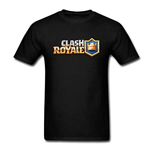Kumiu Men's Clash Royale Game Logo T Shirt