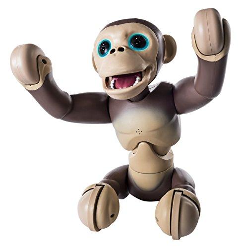 Zoomer Chimp–6034097–Interaktives Spielzeug, Tier-Figur–Schimpanse
