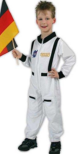Astronaut Overall Weltraumfahrer Weltall Kinder Kostüm Gr 104