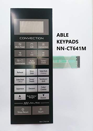 ABLE NN-CT641M Microwave Oven Membrane Keypad