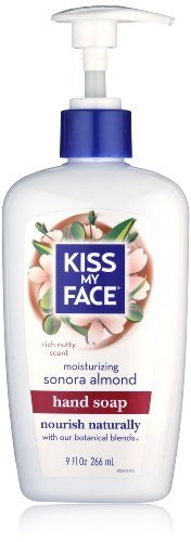 kiss-my-face-moisture-liquid-hand-soap-sonora-almond-9-ounce-pumps-pack-of-6-by-kiss-my-face