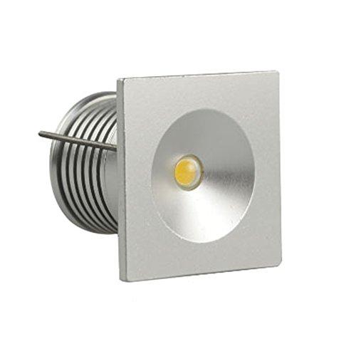 brightsky quadratisch 3W x6pcs LED Deckenleuchte Jewelry Wein Schrank Licht Deckenstrahler Spot, weiß 3.0 wattsW