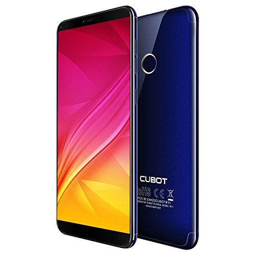 Moviles Libre Cubot R11 Smartphone Libre de 5.5' 3G Android 8.1 Dual Sim 2GB RAM+16GB ROM Quad-Core MT6580 Dual Camara...