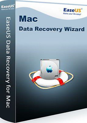 EaseUS Data Recovery Wizard MAC (Product Keycard ohne Datenträger)