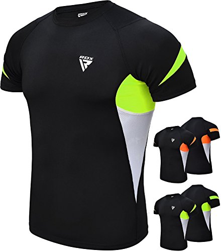 RDX Erupción Guardia Rashguard MMA Rash Vest Camisetas Compresion Termicas Sudor