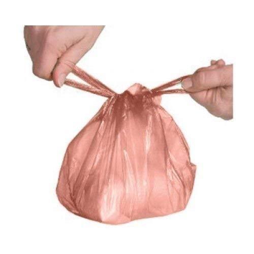 Einweg-Baby Windelbeutel Abfallsammler mit Parfümierte Rose Duft Düfte Krawatte Griff 600insgesamt (2x 300Taschen pro-Pack)