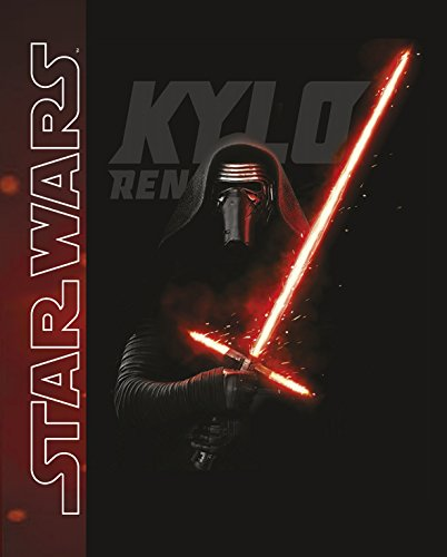 Global Labels G 104 900 SW16 100 Star Wars, Kylo Ren, Coperta in pile, 125 x 150 cm, 100% poliestere