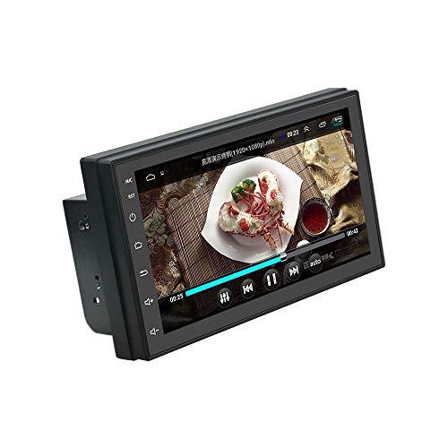 LHNa Navigation für Auto GPS 7 '' 1024 * 600 Super High Definition Digital Screen Lenkradsteuerung Eingebauter MW/FW-Sender WiFi Bluetooth Freisprecheinrichtung Autoradio Fahrspur assistent Cinch-outdoor-antenne