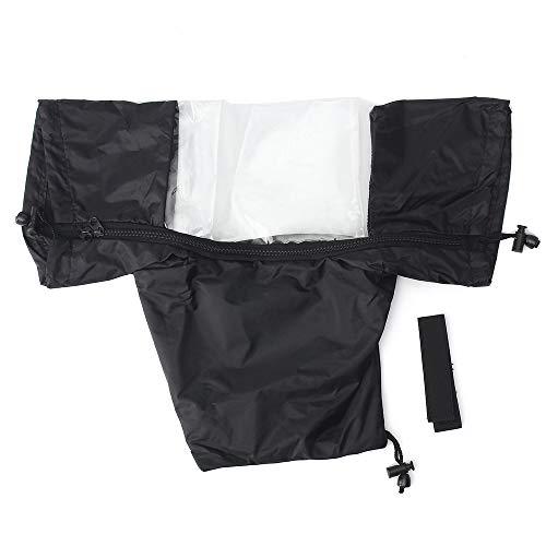 Kamera-Regen-Abdeckungs-Mantel-Taschen-Schutz-regendichter Regenmantel gegen Staub für Canon Nikon DSLR-Kameras ()
