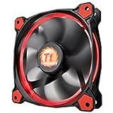 Thermaltake Riing 14 LED Gehäuselüfter schwarz/rot