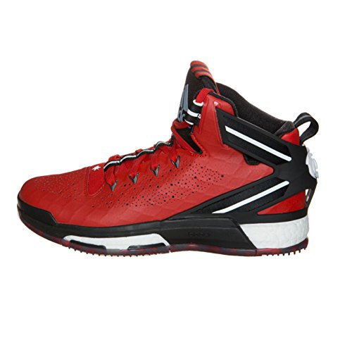 Adidas Performance D Rose 6 Boost-Basketball, Schock Mint / Kupfer / weiÃ?, 6,5 M Us Scarlet/Clear/Blue