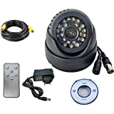 Citra CCTV Dome DVR Camera TV-Out SD-Card, Night Vision, Remote Control with SD Card Recording