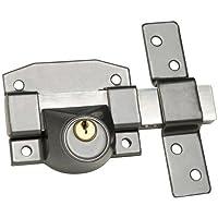 Wolfpack B-9 - Cerrojo para puertas, uso solo llave