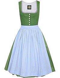 c90a53bd0771cb Hammerschmid Damen Trachten-Mode Dirndl Pillersee in Grün traditionell