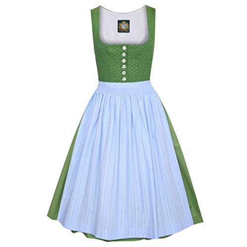 Hammerschmid Damen Trachten-Mode Dirndl Pillersee in Grün traditionell