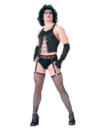 Rocky Fancy Dress Horror Kostüm - The Rocky Horror Picture Show Frank N Furter Costume Fancy Dress
