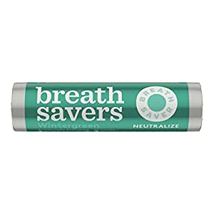 Breath Savers Mints, Wintergreen, 0.75-Ounce Rolls (Pack of 24) by BreathSavers [Foods]