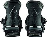Nitro Snowboards Team 20 All Mountain Freestyle Fixation de Snowboard pour Homme Noir Taille L