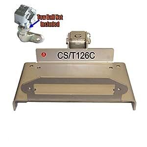 Plaque de montage Treuil Kit boule d'attelage Support universel voiture 4x 4Caravane Remorque 12000lb t126C