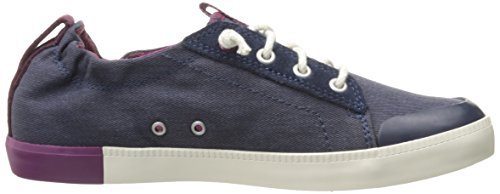 Timberland Damen Newport Bay_newport Bay Canvas Plain Sneakers Blau (Black Iris)
