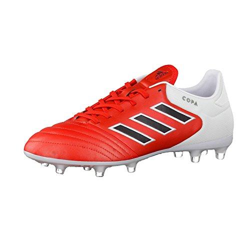 adidas Herren Copa 17.2 FG Fußballschuhe, Rot (Red/Core Black/Ftwr White), 42 EU
