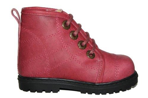 Bundgaard BU-2610 Unisex - Kinder Schuhe Stiefeletten Pink (Dark Pink)