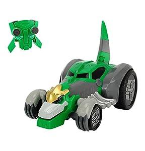 Dickie  Toys 203116000 - RC Rumble Grimlock, vehículo Transformers teledirigido Incluye Pilas, 29,5 cm