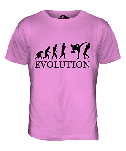 CandyMix Mixed Martial Arts Mma Evolution Des Menschen Herren T Shirt Rosa