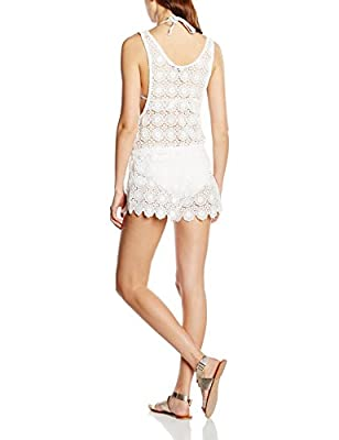 New Look Women's All Over Crochet Playsuit Cover-up