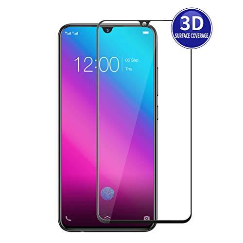 X-Dision 3D Schutzfolie Vollbildschutz Kompatibel mit VIVO V11 (Schwarz), HD-Komplettabdeckung, 9H Härten von Glasschutz, Anti-Fingerabdruck & Anti-Shatter
