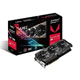 AREZ-STRIX-RXVEGA64-O8G-GAMING Grafikkarte für ASUS Radeon RX Vega64 OC Edition VR Ready 5K HD DP HDMI DVI AMD Gaming
