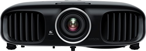 Bild 2: Epson EH-TW6100 3D Heimkino 3LCD-Projektor (Full HD 1080p, 2.300 Lumen Weiß & Farbhelligkeit, 40.000:1 Kontrast, 2x HDMI (1x MHL), inkl. 1x 3D Brille) schwarz