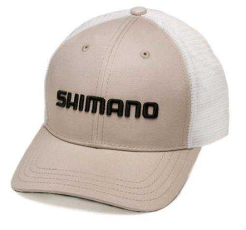 Shimano Smokey Trucker Cap, Herren, Stone, One Size Fits All -
