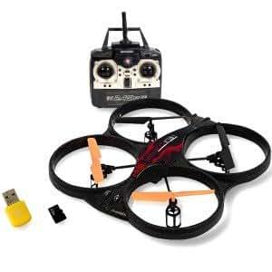 Drone hélicoptère radiocommandé 32 cm avec caméra embarquée